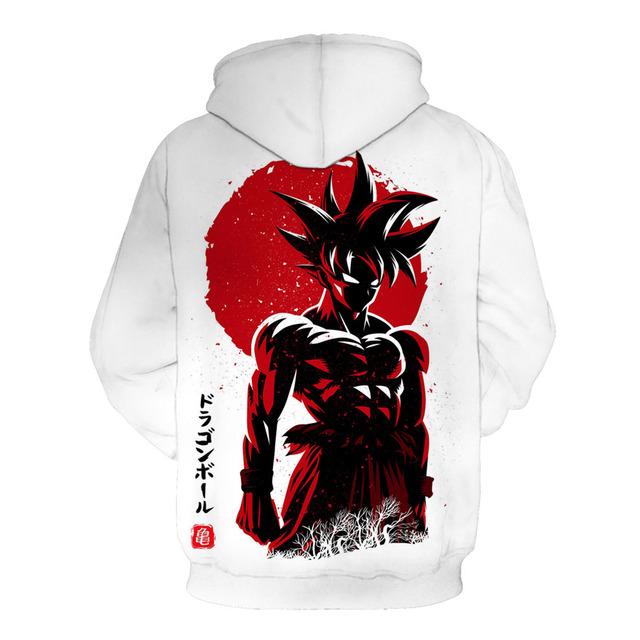 Dragon Ball Z Strong Goku Printing 3D Hoodie