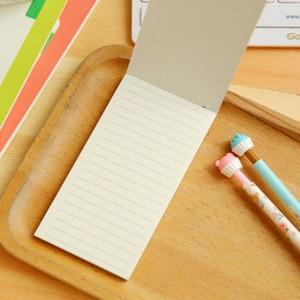 Image 4 - 20 pz/lotto Kraft di carta semplice linea di notebook può strappare Notepad Piccolo Notebook Planner Note di Cancelleria Allingrosso