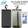 WEICHENG Замена высокого качества для 5 5 дюймов Oukitel K10000 ЖК-дисплей и кодирующий преобразователь сенсорного экрана в сборе + Бесплатные инструме...