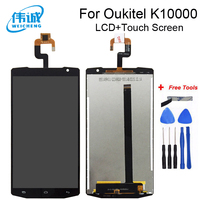 Weicheng qualidade superior substituição para 5.5 Polegada oukitel k10000 display lcd e tela de toque digitador assembléia + ferramentas gratuitas|touch screen digitizer|screen touch|replacement screen -