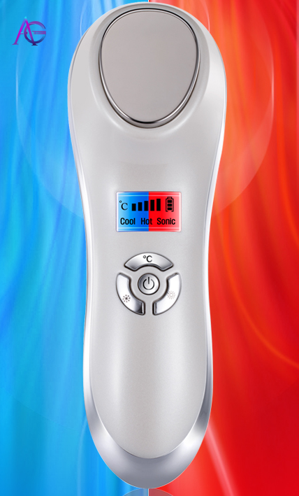 Cold And Hot Induction Beauty Instrument Highly Efficient Facial Lifting For All Kinds Of Face