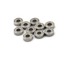 10pcs New Miniature 695ZZ 695-2Z 695-Z 695 Skate board bearing 5x13x4 mm