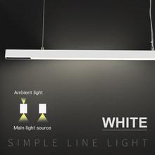 Table and bar work White led spot suspension lights 30W flood linear pendant lighting
