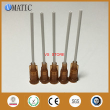Free Shipping 15G 1'' Inch Pp Flexible Glue Dispensing Needle Tip Dispenser Needle