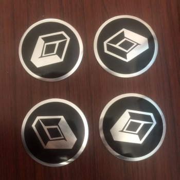 68mm Car Wheel Center Cap HUB Badge Emblem Stickers for Renault Koleos Captur Clio IV Fluence Espace Kadjar Kangoo Megane 4pcs image