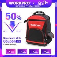 WORKPRO 2020 New Tool Bag 17 Backpack Waterproof Organizer Bag 60 Pocket Multifunctional Storage Bags for Man