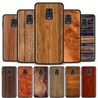Abdeckung Telefon Fall für Xiaomi Redmi Hinweis 9S 7 8 Pro 8T 9 Pro 6A 7A 8A 9A 9C K20 K30 Pro Weiche TPU Shell Capa holzmaserung