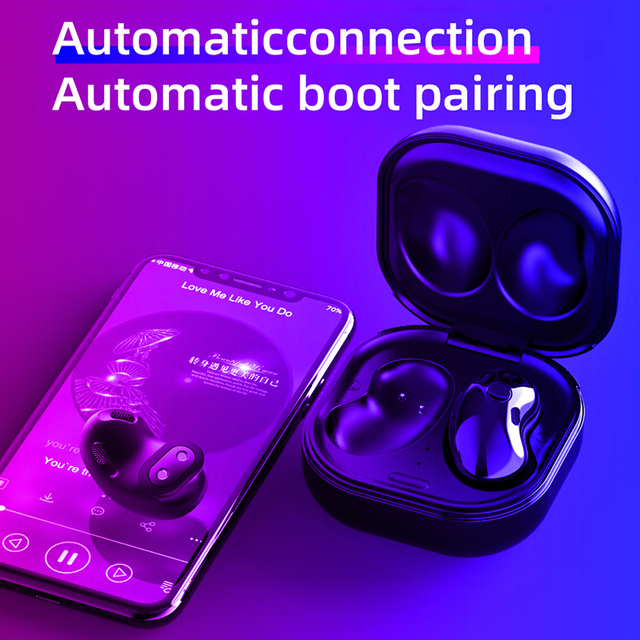 Wireless Headphones Bluetooth 5.1 TWS Headphones with Microphone Bluetooth Earphone Stereo Headset for IOS Samsung Buds Live 4