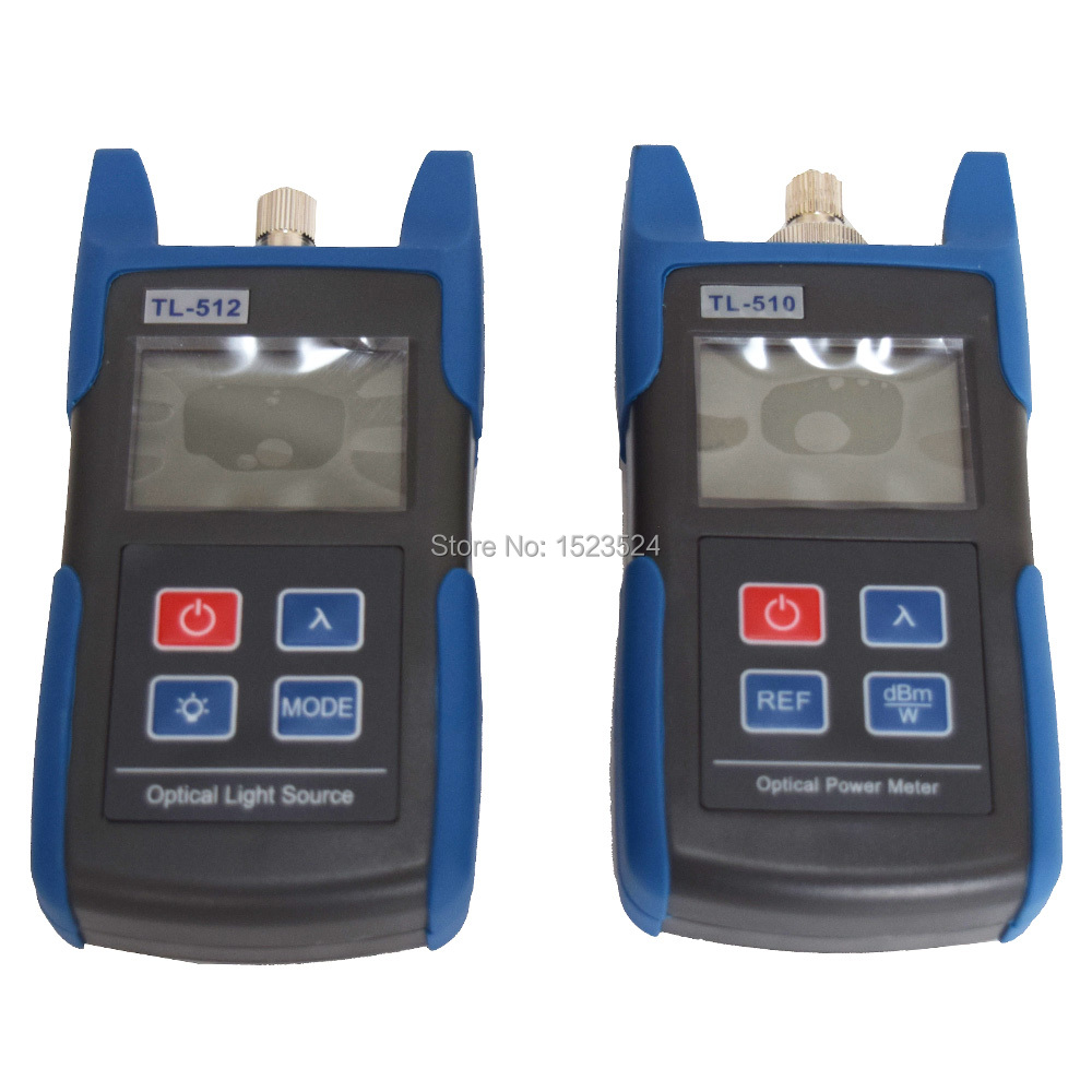 Image 2 - FTTH Optical Multimeter TL510A Optical Power Meter + TL512 1310/1550nm Optical Light Source-in Fiber Optic Equipments from Cellphones & Telecommunications