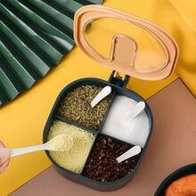 4 сетки соль перец приправ прозрачный приправа Органайзер наборы