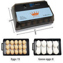 Alta taxa de incubação fazenda incubadora chocadeira máquina 15 incubadoras ovo incubadora automática galinha