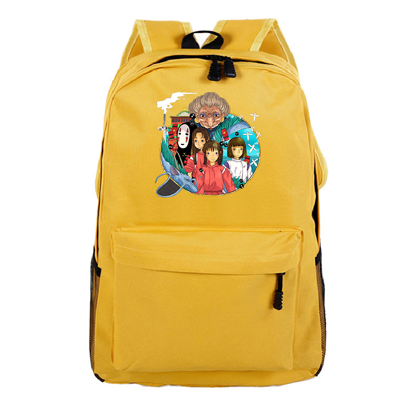 <font><b>Spirited</b></font> <font><b>Away</b></font> Daily <font><b>Backpack</b></font> Bag Women Mens <font><b>Backpacks</b></font> Teenager School Bags Sac A Dos Mochila Bagpack for Boys Girls shoulder bag image