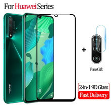 2-in-1 Tempered Glass Huawei P30 Lite Camera Protective Film Nova 5 5i Pro Screen Protector P 30