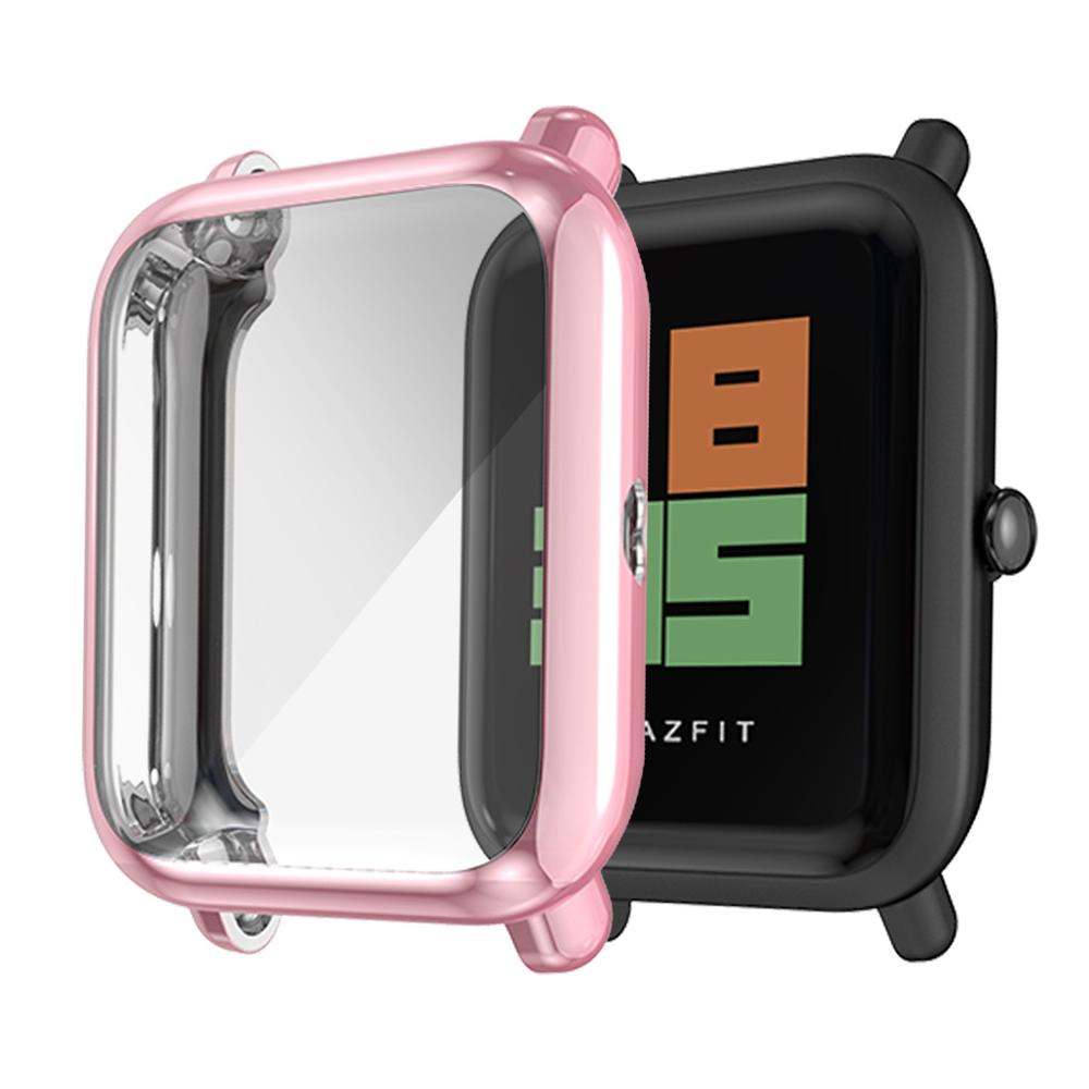 Tpu Full Cover Case For Amazfit Bip ProtectIve Case For Amazfit Bip Proytection Waterproof Silicone Bumper Cover For Amazfit Bip