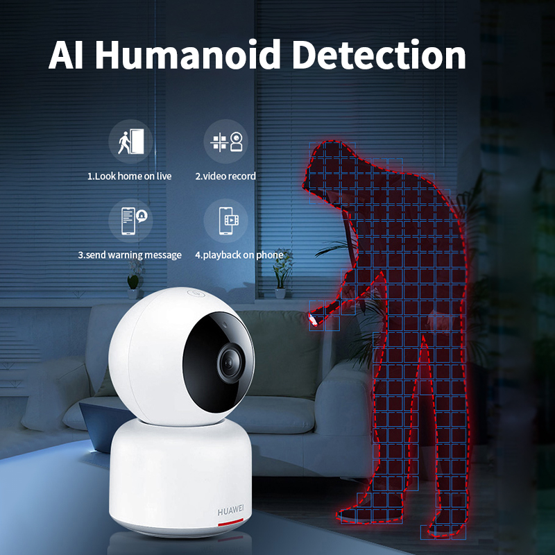 Купить с кэшбэком Huawei 360 Degree Camera Wifi IP Wireless 1080P HD Video Night Vision Home Security Humanoid Detection Smart Mini Camera