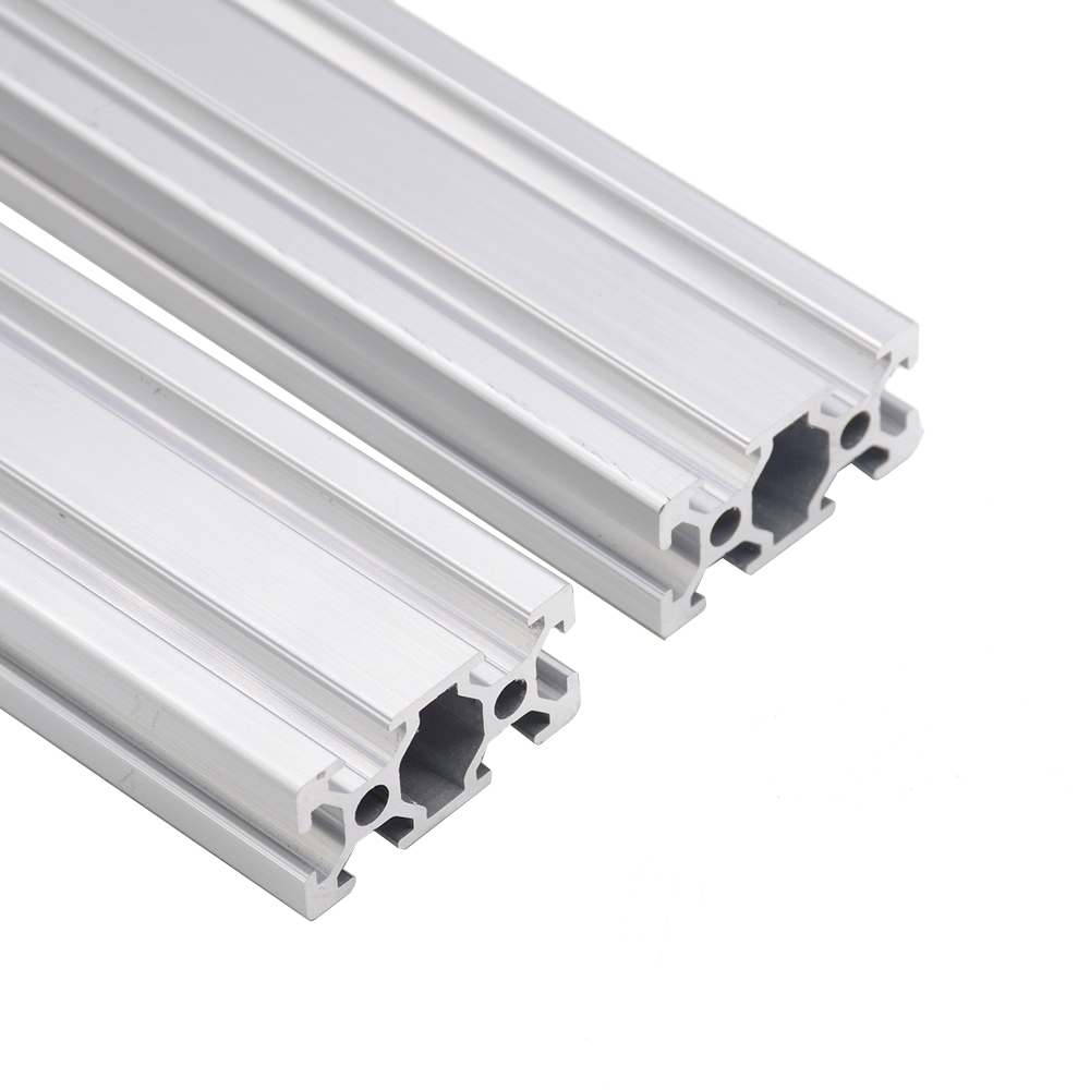 4pcs/lot <font><b>2040</b></font> Aluminum Profile <font><b>Extrusion</b></font> EU European Standard Anodized Linear Rail Profiles Shaft <font><b>2040</b></font> 3D Printer CNC DIY Parts image