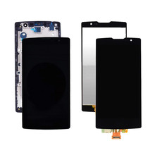 1Pcs Top quality new For LG Magna H500 H502 H502F H500F Y90 5.0 inch LCD Display Touch Screen Assembly Black,No/with Frame 5 0 for lg magna g4c h525n h525 h522y h520y h500 h502 lcd display touch screen digitizer assembly with bezel frame