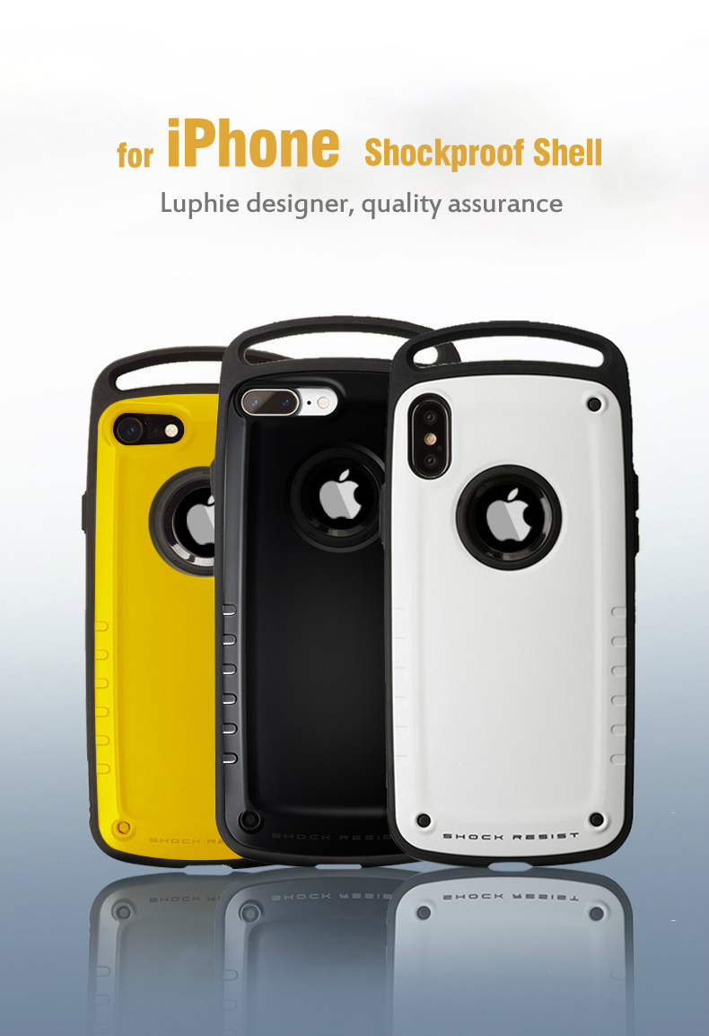 luxury Hybrid Shockproof Case For iPhone 11 Pro MAX Heavy Duty Armor Case For iPhone 11 X XS Max XR 8 7 Plus Hard Silicone Cover