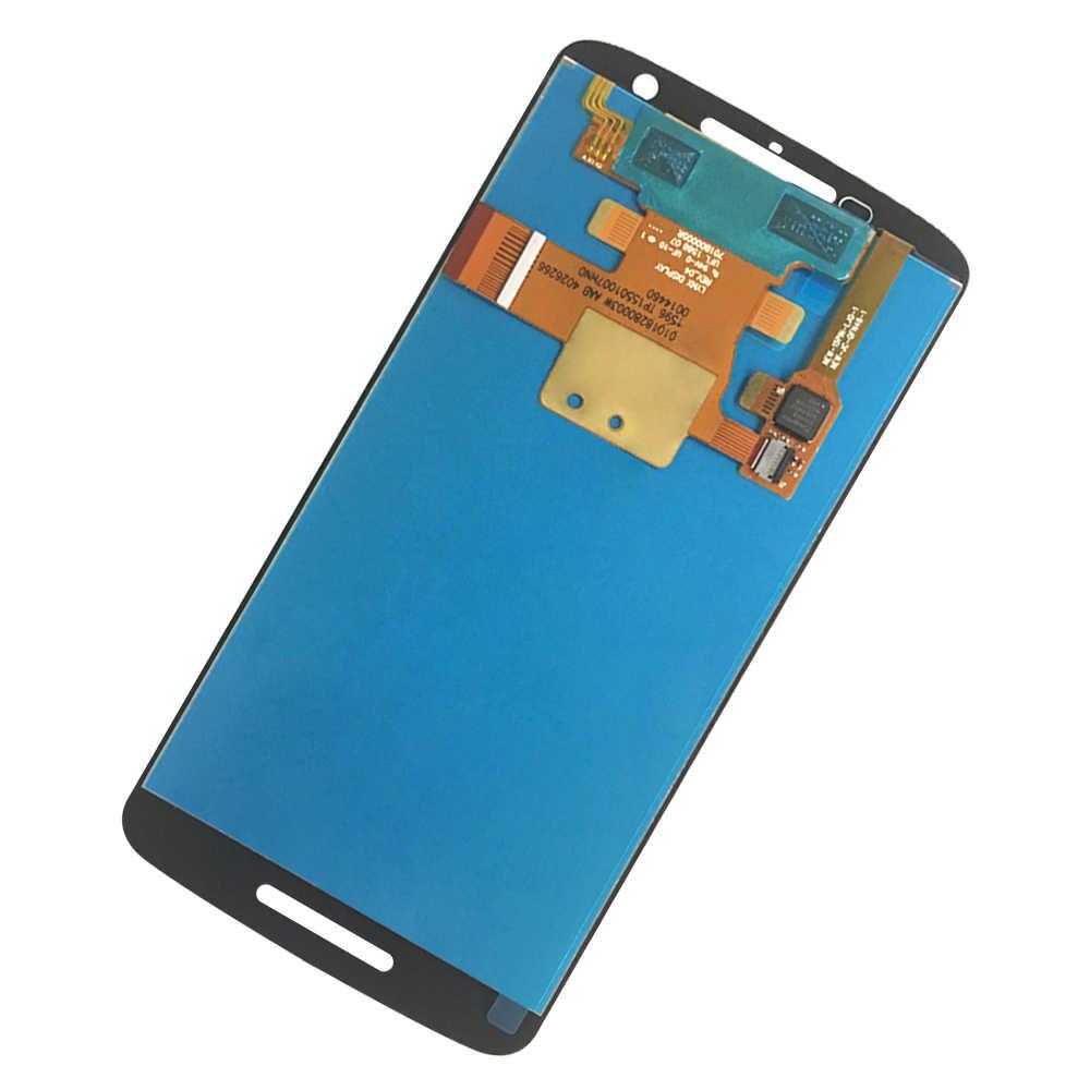 モトローラモト X 再生 XT1561 XT1562 XT1563 XT1565 100% 稼働液晶ディスプレイのタッチスクリーンデジタイザアセンブリの交換