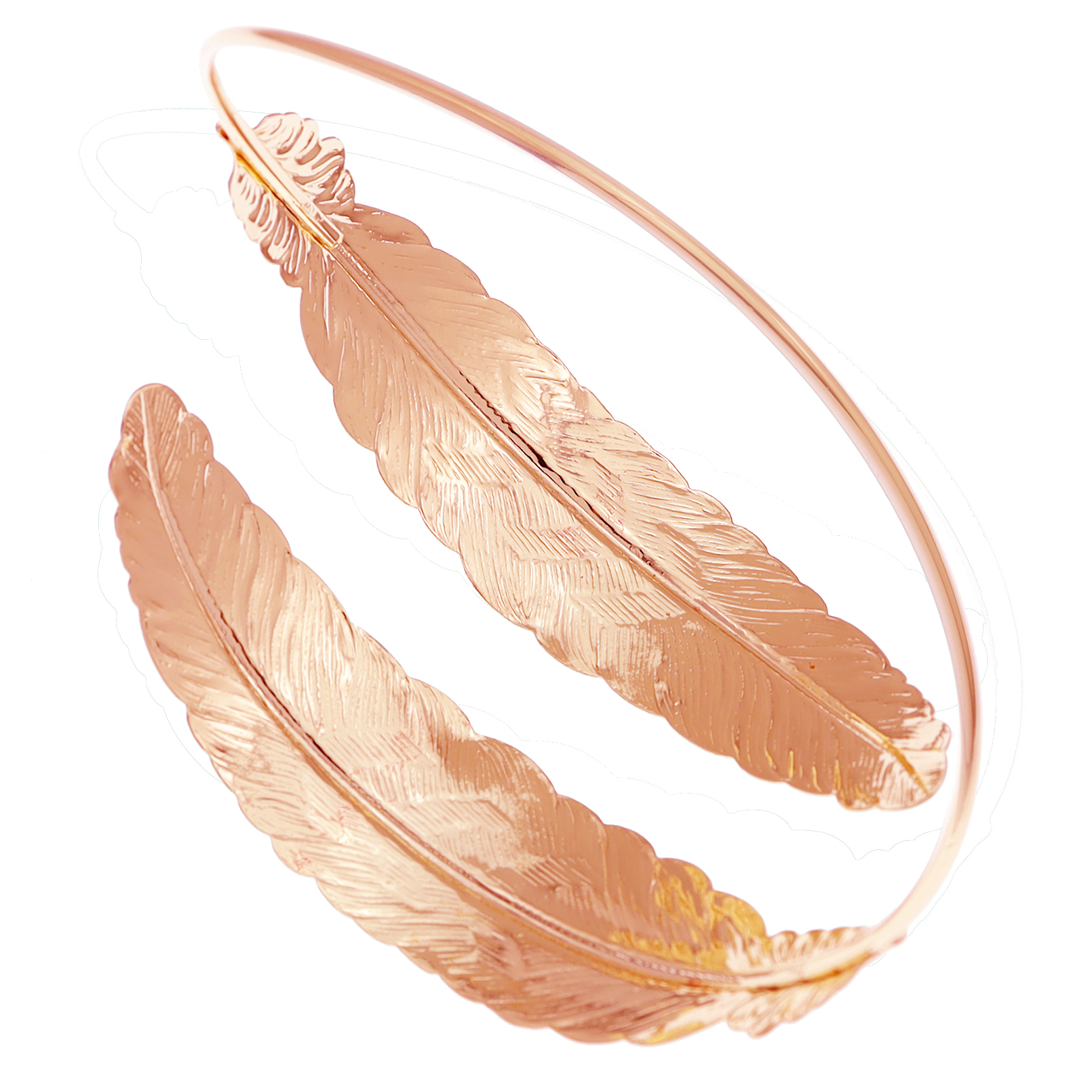 Rosegold Feather