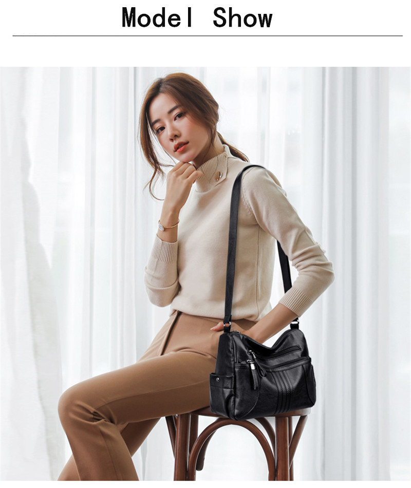 Big Large Leather Shoulder 6