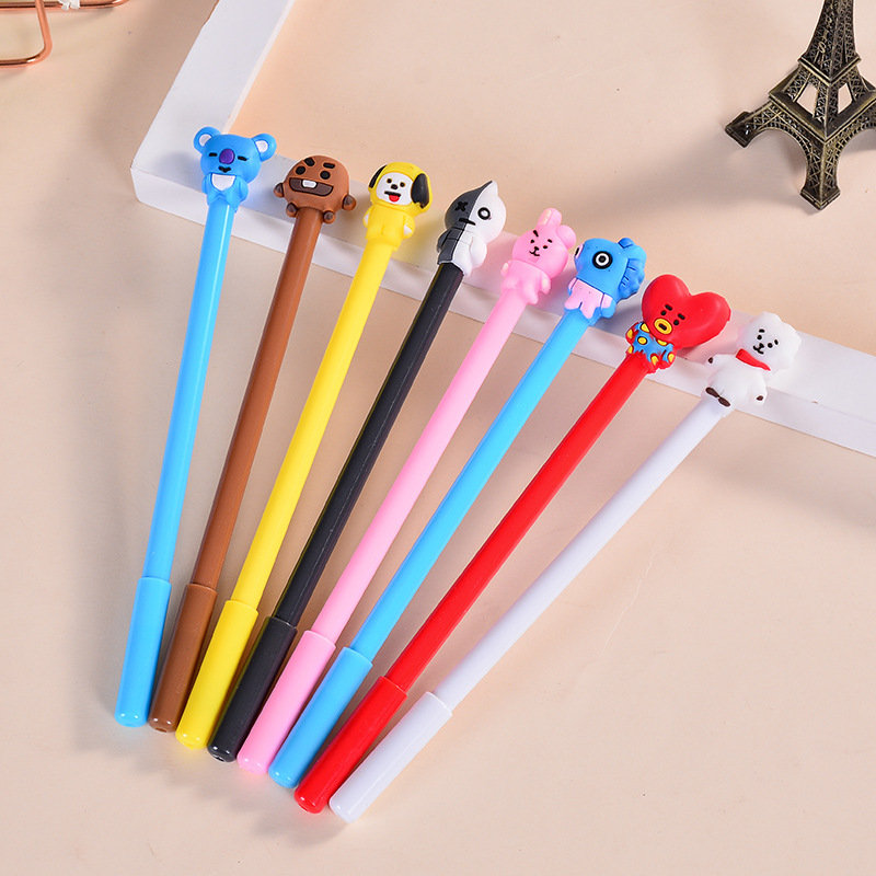 Bangtan Boys Cute Cartoon Pen For Women Men Jewelry Bangtan Accessories