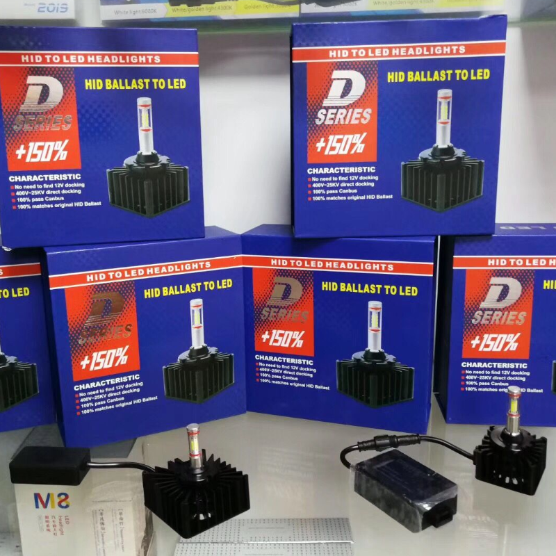 YY D1S LED Bulb D3S D2R D2S D4S D5S D8S Car Headlights Lamp 35W 4000Lm Plug Play to Original HID Ballast Canbus Error Free