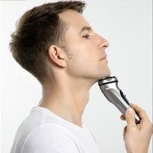 Мужская бритва для бороды триммер волос моющаяся