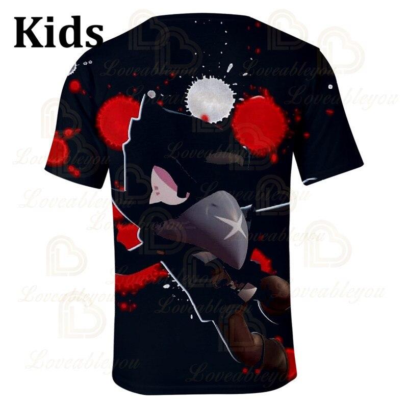 Children's Crow Shoot Game 3D Print T-shirt Womens Clothing Gameing T Shirt Star Women Kids Leon Tops 2020 Shirt Boys Girls  - buy with discount