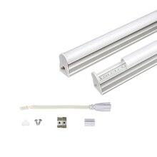Светодиодный светильник T5, 220 В, 230 В, 240 в, Флуоресцентный светильник из ПВХ пластика, 30 см, 6 Вт, светодиодный светильник на стену, Теплый Холодный белый