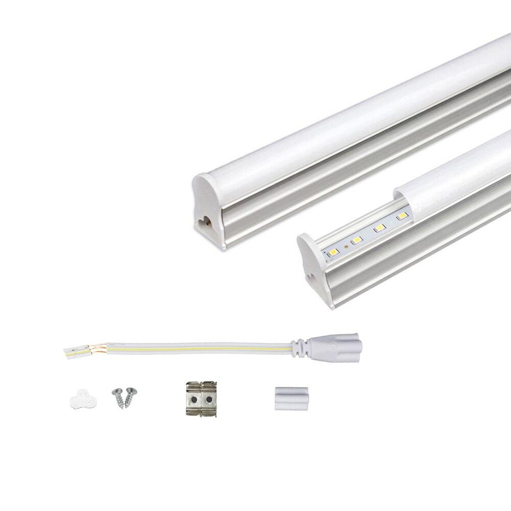 LED Tube T5 Light Lamp 220V 230V 240V PVC Plastic Fluorescent Light Tube 30cm 6W  LED Wall Lamp Warm Cold White