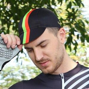 Boné feito sob encomenda da bicicleta da cópia da transferência térmica seu próprio design ciclismo tampões do esporte da forma bonés do ciclismo chapéus com etiqueta privada