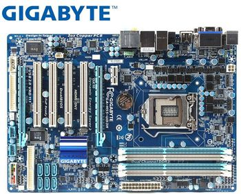 цена на Gigabyte GA-H55-UD3H desktop motherboard for intel DDR3 LGA 1156 16GB For I3 I5 I7 CPU H55-UD3H H55 used mainboard PC boards