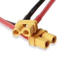 7 см XT30U XT30 штекер 18AWG кабель для Секции платы пайки ESC 2S Lipo батарея для RC моделей деталей Асса