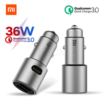 xiaomi-car-charger-original-qc-3-0-dual-usb-quick-charge-max-5v-3a-36w-for-iphone-samsung-huawei-oppo-vivo-usb-c-car-charger-pd