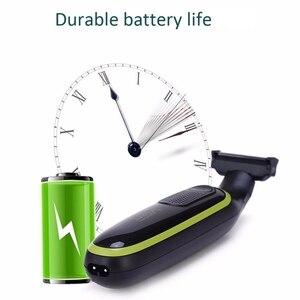 Image 5 -  Vgr электробритва, Usb портотивная Зарядка для бритвы, маленький Т образный нож, Мужской и Женский Триммер для бритья волос