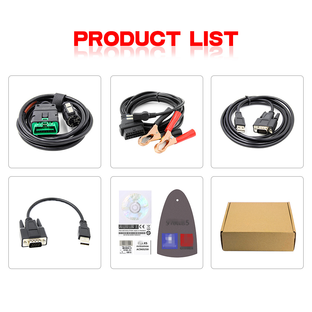 Image 5 - Lexia 3 PP2000 Full Chip Diagbox V7.83 for Peugeot Diagnostic Scanner Lexia Citroen Diagnostic Tool FW 921815C Lexia3 V48/V25-in Engine Analyzer from Automobiles & Motorcycles