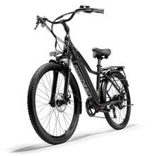 Mountain Electrical Bicycle Lankeleisi 26″ 36v 18ah LG Lithium Battery Aluminum Alloy EU High quality Black Metropolis Ebike Grownup Bike