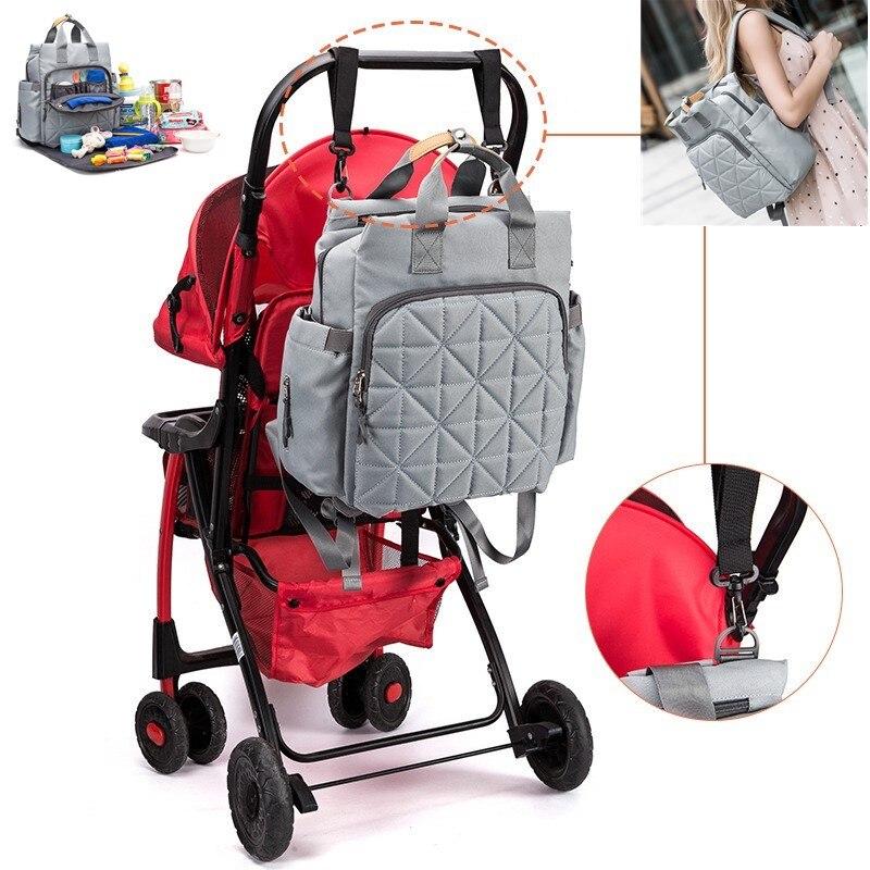 Mommy Package Baby Bags Woman Both Shoulders Stroller Organizer   Nappy Diaper Nursing Bottle Bag Handbag Backpack