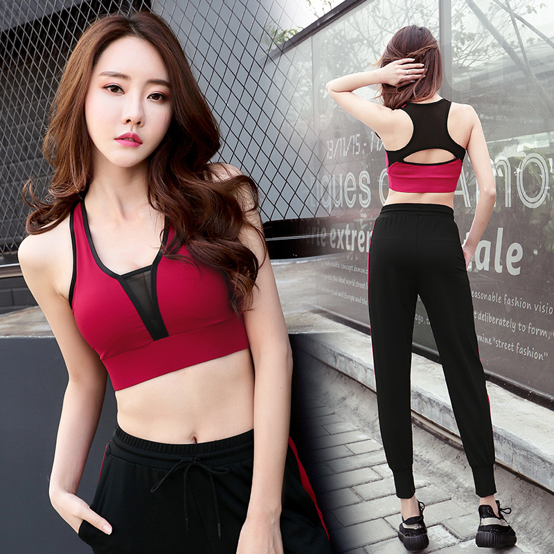 New quick-drying beauty back underwear sexy shockproof XL corset comfortable breathable bra sweat-absorbent