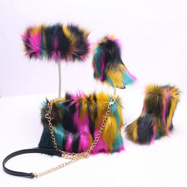 Faux Fur Furry Boot|Boots| - AliExpress