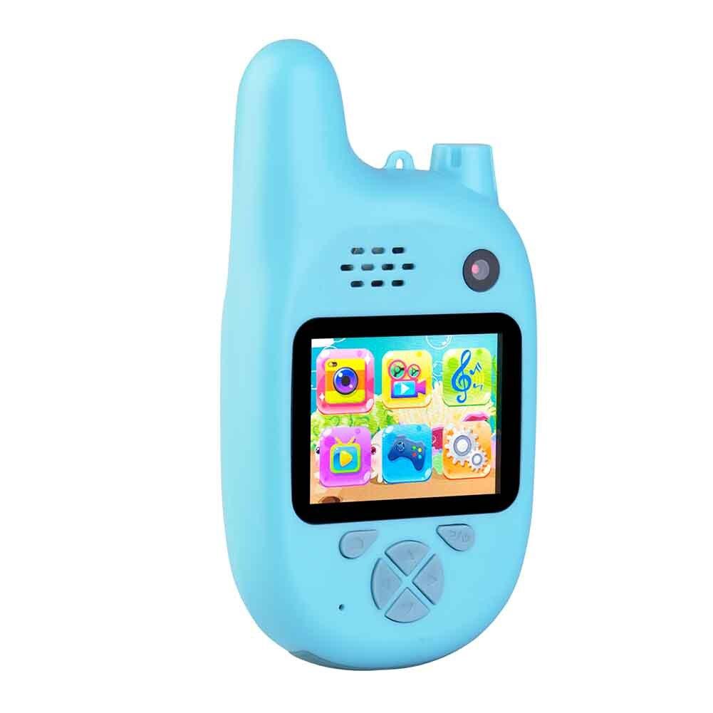 walkie talkie de longa distancia mini tiro intercom camera handheld tela hd gravacao video criancas brinquedo