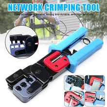 RJ45 Crimper Crimping Tool Networks Cutting Tools RJ11 Cable Crimping Wire Stripper Plier J8