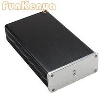 D203 W115 H50 DAC 앰프 케이스 알루미늄 섀시 전원 공급 장치 DIY 케이스 USB PCM2706 디코더 DAC 보드 섀시