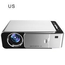 T6 projektor Led Full Hd 4K 3500 lumenów Hdmi Usb 1080P przenośne kino Beamer przewodowy tym samym ekranie projektor WIFI tanie tanio ONLENY CN (pochodzenie)