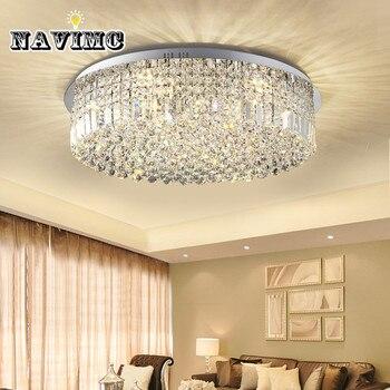 Современный хрустальный потолочный светильник для гостиной/столовой спальни зала ресторана отеля