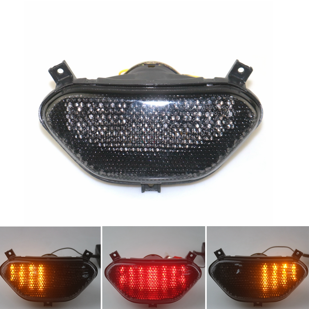 Led Motorcycle Rear Tail Light Brake Turn Signal Integrated  For SUZUKI BANDIT 600 1996-1999 BANDIT 1200 1997-2000