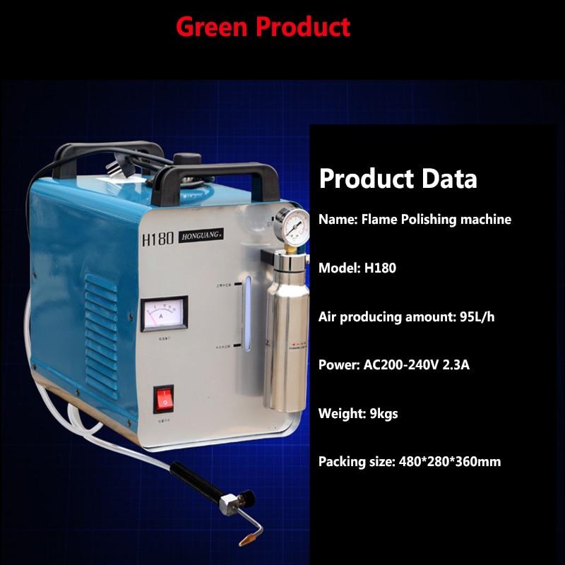 Hongguang H180 hordozható oxigén hidrogén lánggenerátor akril - Elektromos kéziszerszámok - Fénykép 2