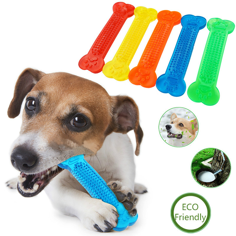 Dog Toy Pet Molar Tooth Cleaner Brush Stick Training Dog Chew Toy Dogs Toothbrush Doggy Puppy Dental Care Dog Pet Puppy image