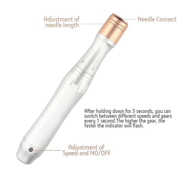 Electric Dr.pen Wireless Skin Care Machine Device Tattoo Microblading MYMTattoo Needles Gun Dr Pen Mesotherapy Face Makeup 3